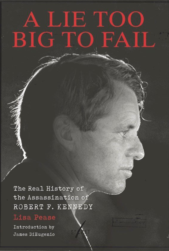 A Lie Too Big to Fail: The Real History of the Assassination of Robert F. Kennedy Book